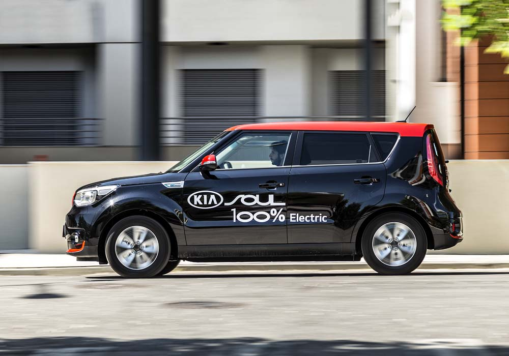 Test Kia Soul Electric Trendbust AT
