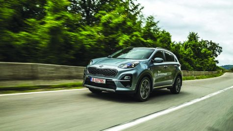 Test drive – Kia Sportage facelift 1.6 T-GDI 7DCT 4×4 Style