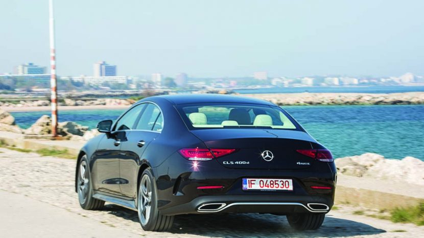 Test Mercedes-Benz CLS 400 d 4Matic