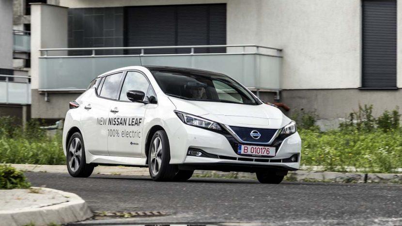 Test drive - Nissan Leaf Tekna