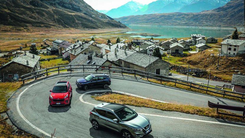 Test comparativ: Nissan Qashqai vs noul Jeep Compass și Kia Sportage