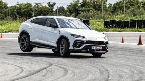 Test video Lamborghini Urus