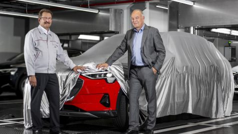 Noul Audi e-tron a intrat în producție înainte de a fi prezentat