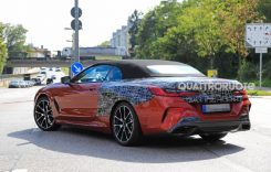 BMW Seria 8 Cabrio a ieșit la teste