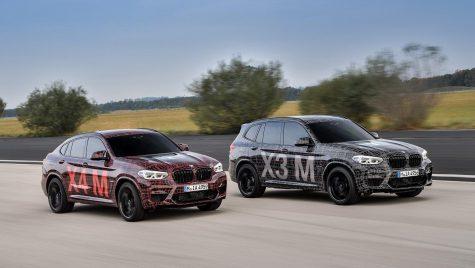BMW X3 M şi BMW X4 M sunt aproape gata de acțiune