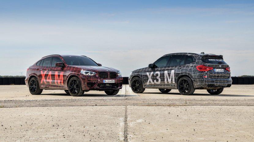 BMW X3 M si BMW X4 M