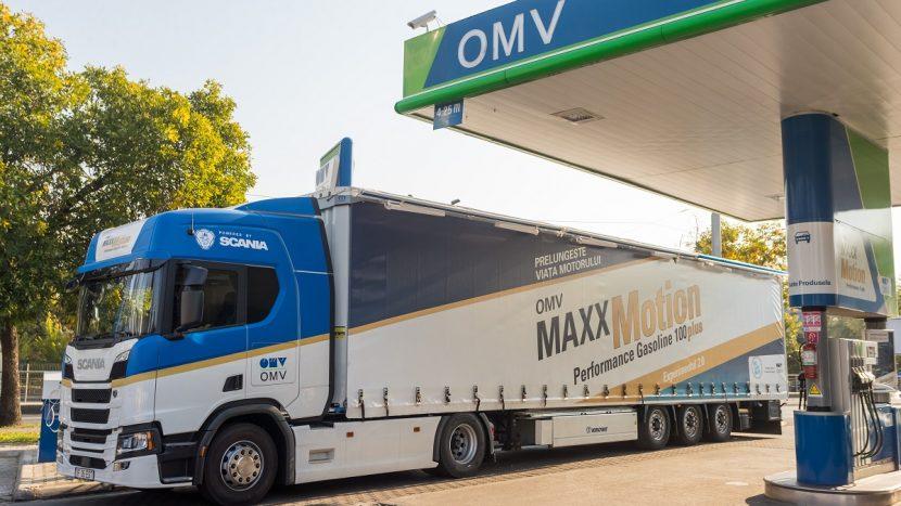 Benzinărie OMV