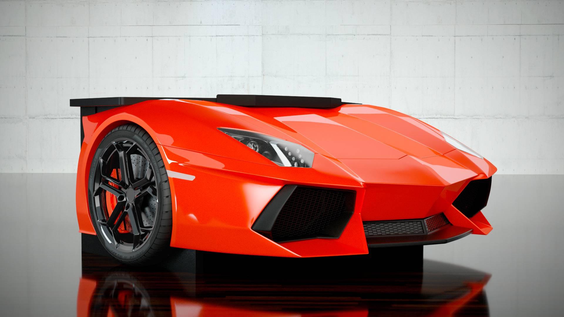 Lamborghini construiește biroul care costă cât o garsonieră