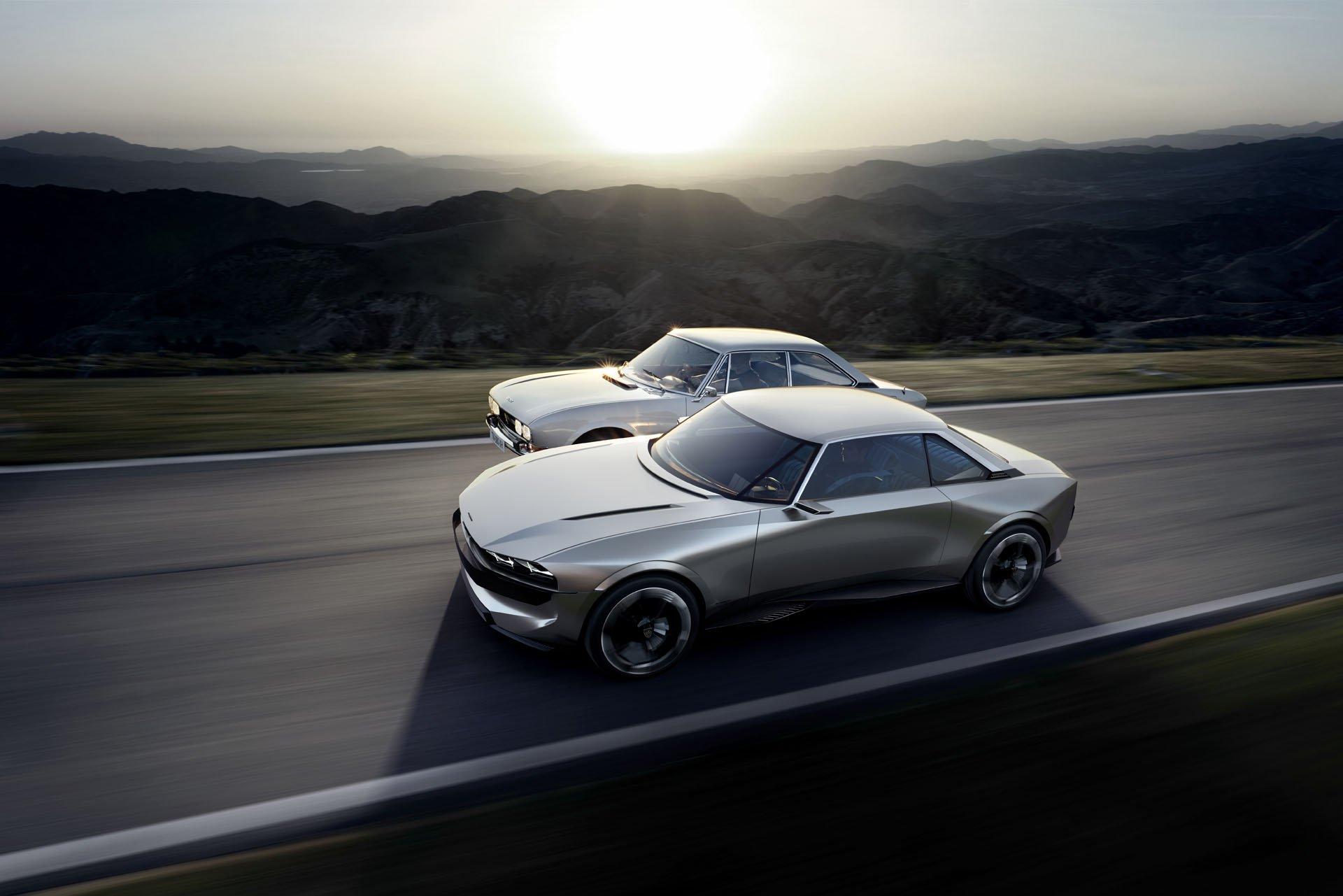Conceptul Peugeot e-Legend desenat de Gilles Vidal