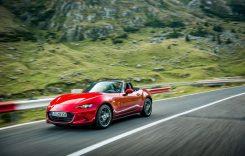 Test drive: Mazda MX-5 facelift pe Transfăgărășan