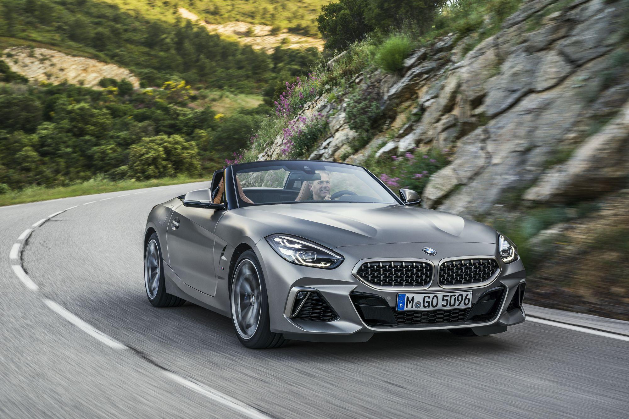 Noul BMW Z4 – Trei versiuni noi vin în 2019
