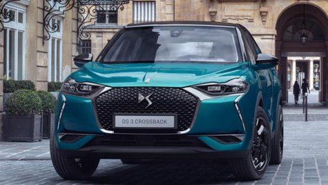 Noul DS 3 Crossback va fi disponibil cu propulsie diesel, pe benzină și electrică