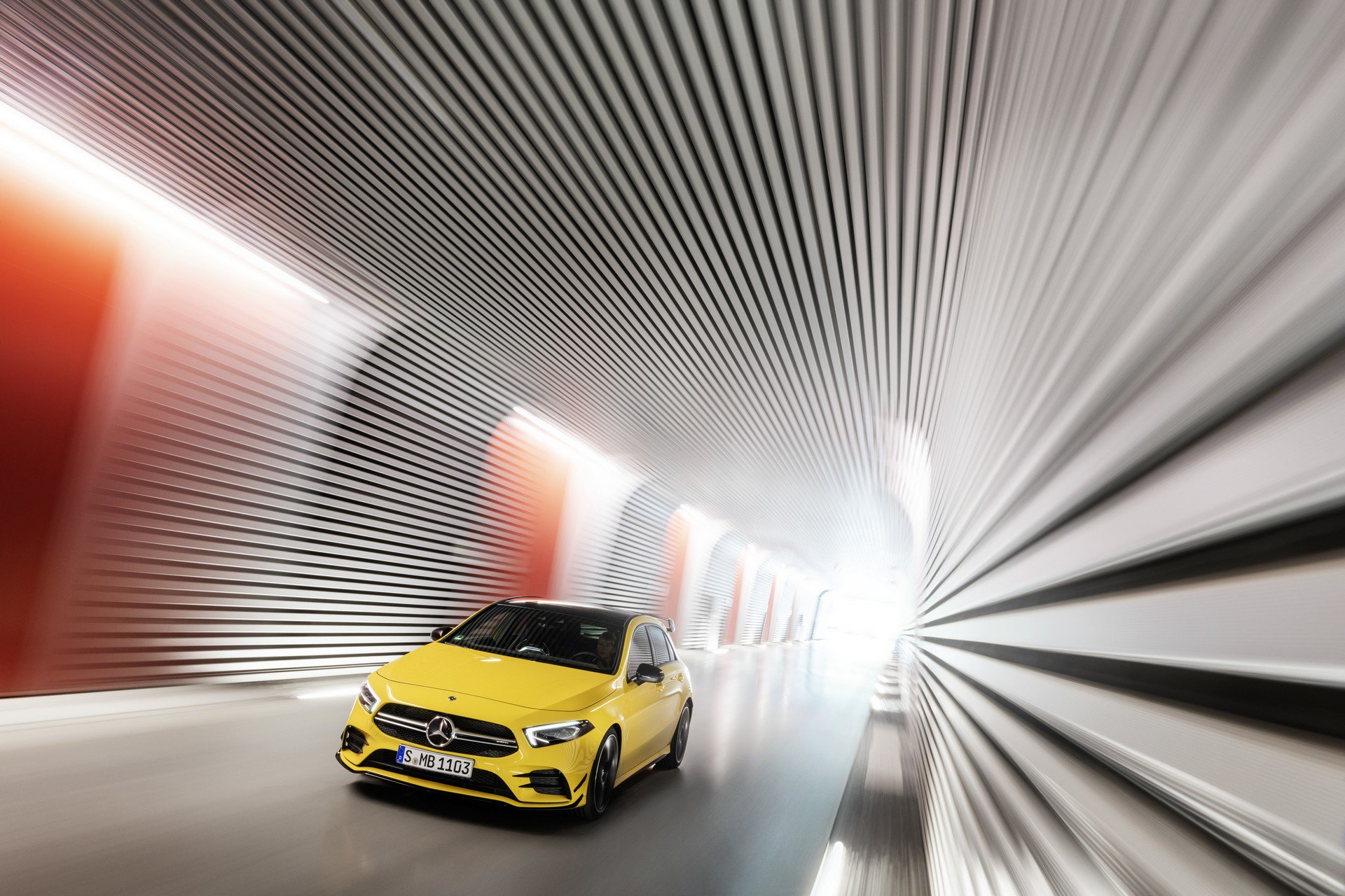 Noul Mercedes-AMG A 35 4MATIC – Imagini și informații oficiale