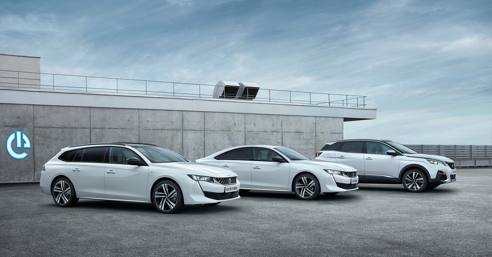 Disponibile din 2019: Peugeot 3008 și Peugeot 508 Plug-In Hybrid