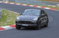 Porsche Cayenne Coupé, în teste pe circuitul de la Nurburgring