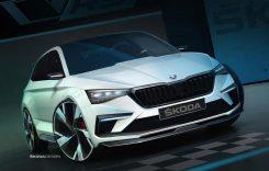 Skoda Vision RS – Conceptul hibrid cu 245 de cai putere