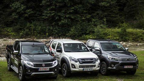 Test drive – Fiat Fullback vs Isuzu D-Max vs Toyota Hilux