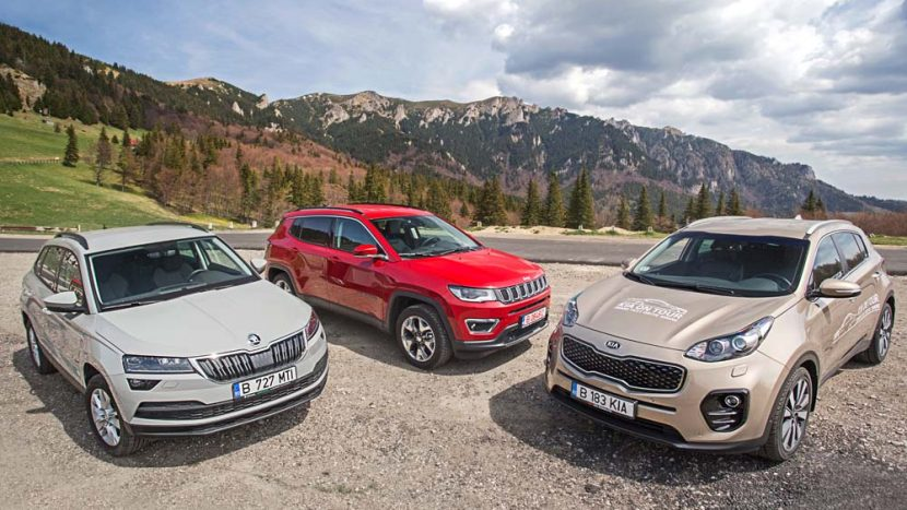 Test drive - Kia Sportage vs Jeep Compass vs Skoda Karoq