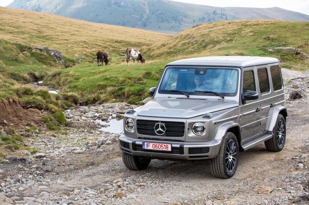 Test drive Mercedes-Benz G 500