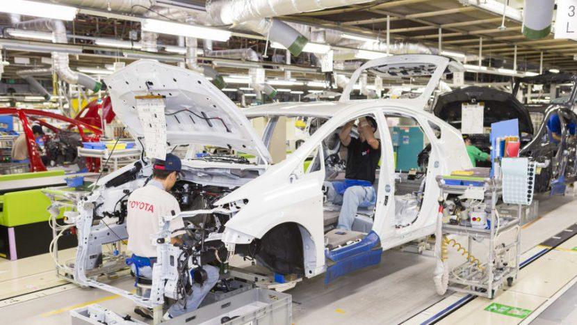 Uzina Toyota cutremur