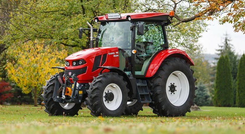 Primul tractor 100% românesc: motor cu AdBlue și climă automată!