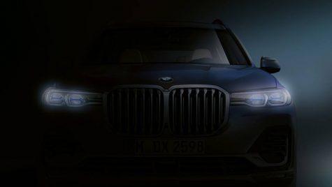 Viitorul BMW X7 își face apariția în primul teaser