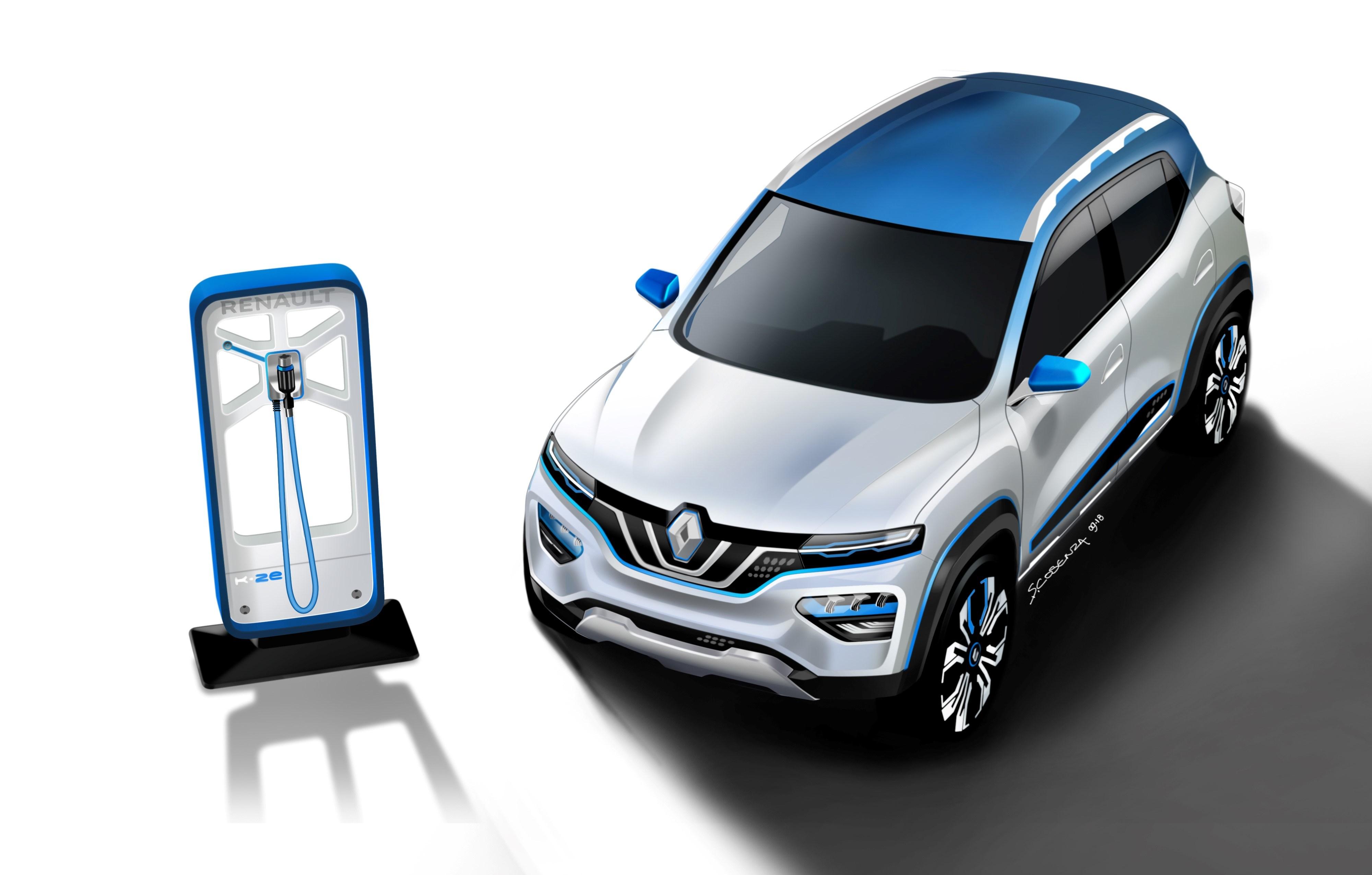 Conceptul Renault K-ZE