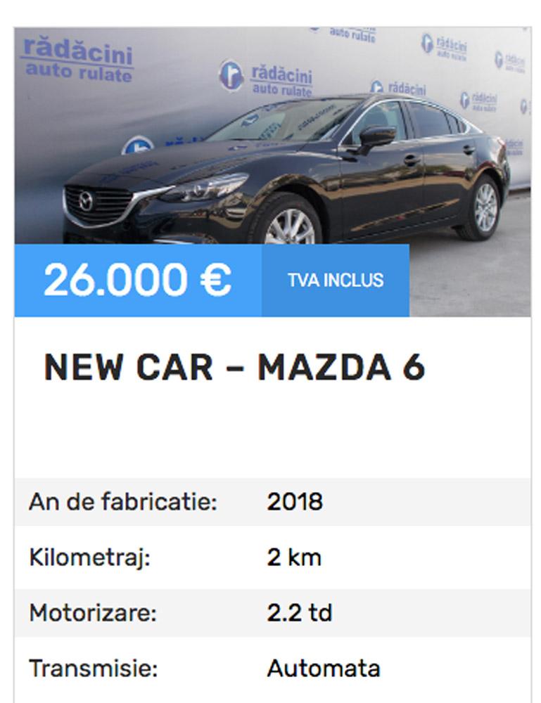 Mașină nouă la preț de second! Cum e posibil?