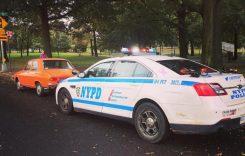 Dacia 1300 a fost oprită în trafic la New York. Ce a avut Poliția cu șoferul?