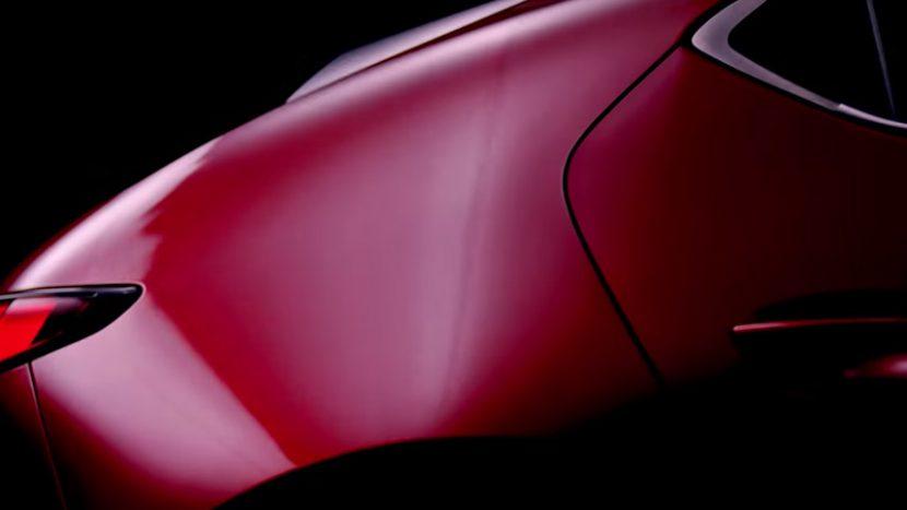 Primul teaser cu noua Mazda 3