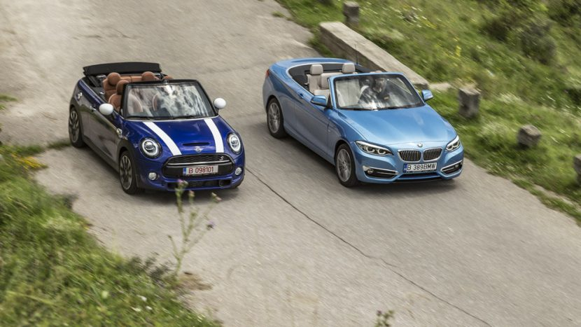 Test comparativ - Mini Cooper S Cabrio vs BMW Seria 2 Cabrio