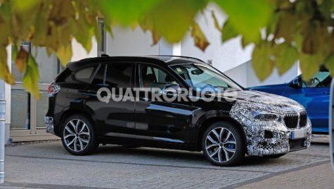 Viitorul BMW X1 – Primele imagini cu interiorul