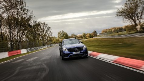 Mercedes-AMG GLC 63 S este cel mai rapid SUV de pe Nurburgring (Video)