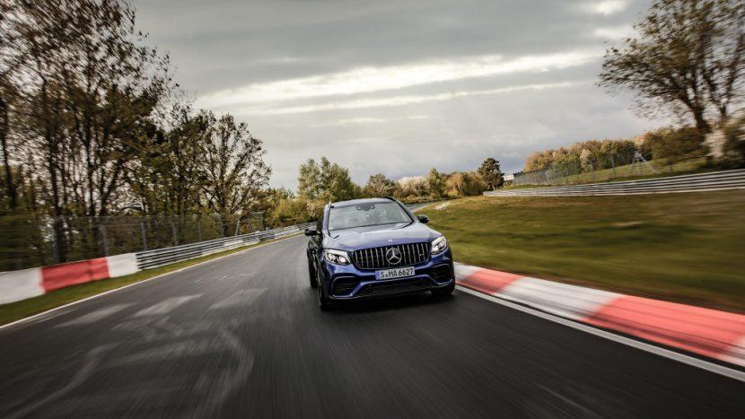 Mercedes-AMG GLC 63 S este cel mai rapid SUV de pe Nurburgring