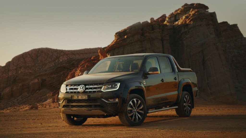Volkswagen Amarok reclamă