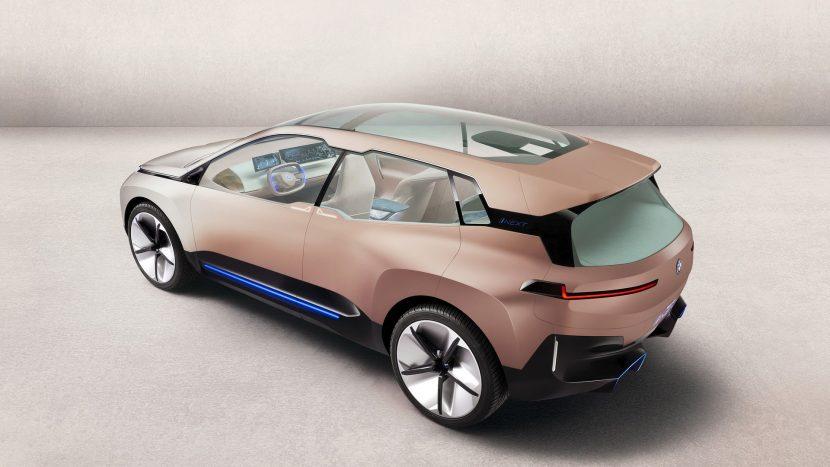 platformă electrică proprie BMW iNext