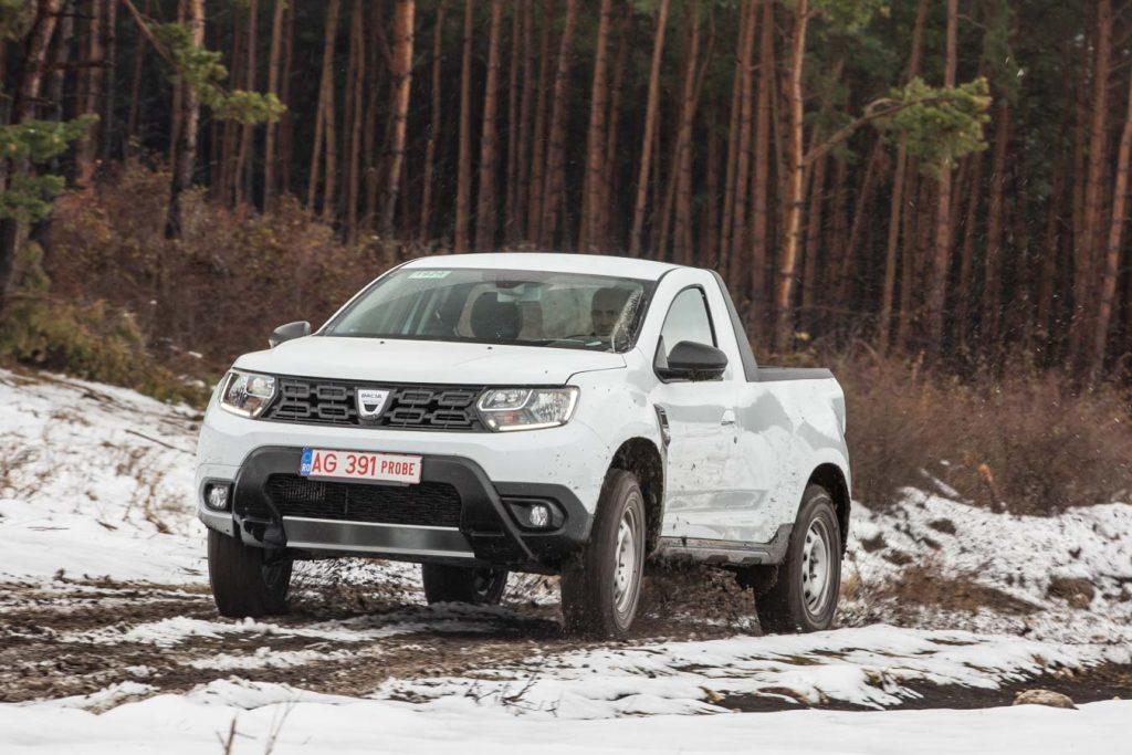 Test video în premieră mondială cu noua Dacia Duster pick-up