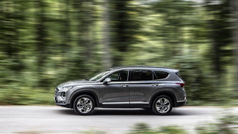 Hyundai Santa Fe facelift: constructorul coreean pregătește noul model SUV