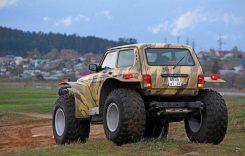 Monstrul din Est: ce poți să faci cu Lada Niva Snow și cât costă