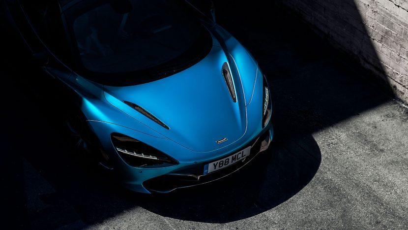 McLaren 720S Spider - primul teaser și informații oficiale