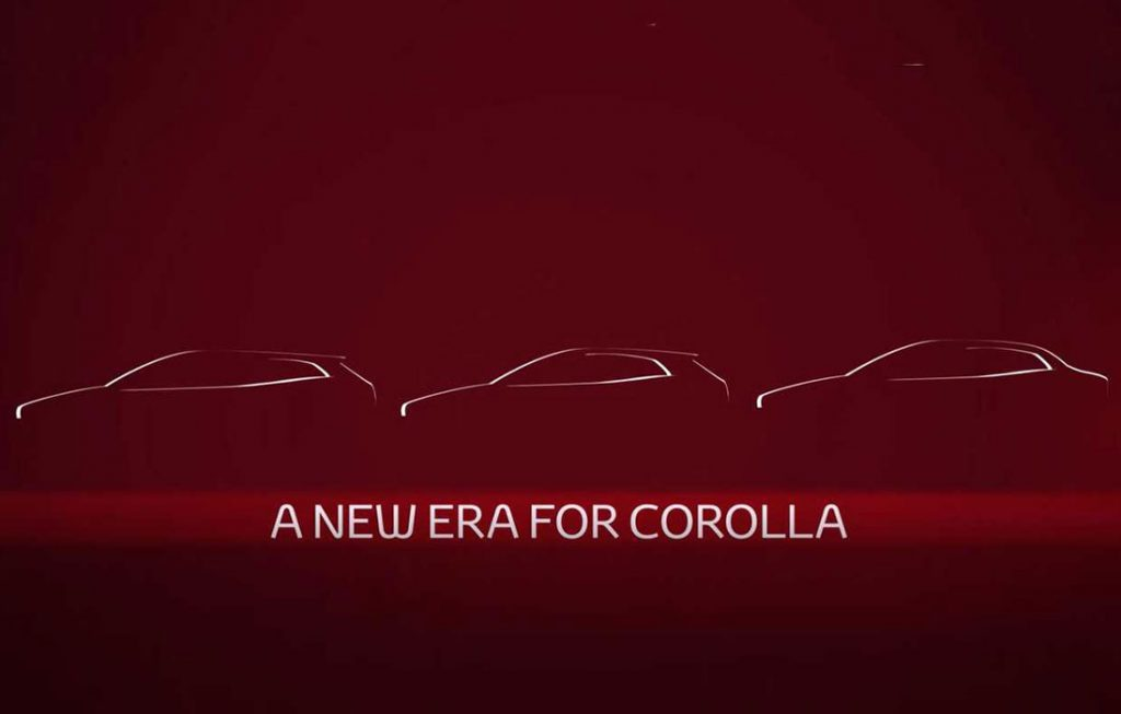Noua Toyota Corolla sedan