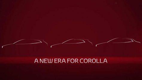 Cum arată farurile viitoarei Toyota Corolla sedan? Un nou teaser
