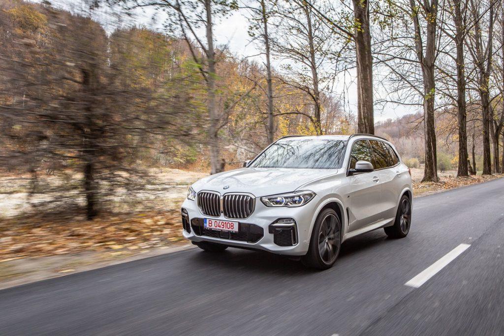 Test drive BMW X5 M50d