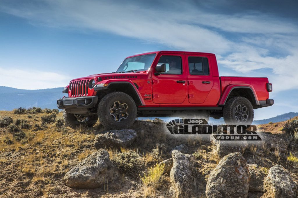 Noul Jeep Gladiator (2)