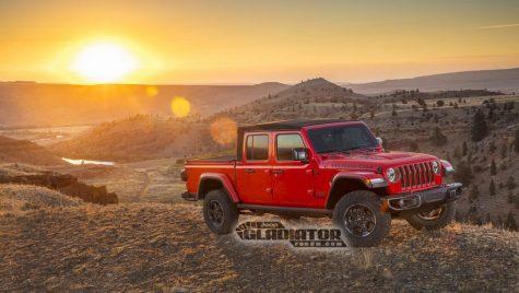 Noul Jeep Gladiator – Informații și fotografii oficiale