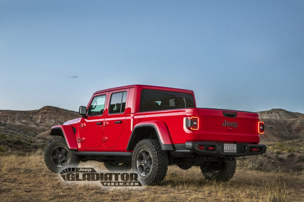 Noul Jeep Gladiator (5)