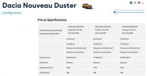 Dacia Duster cu noile motoare pe benzină de 130 CP și 150 CP