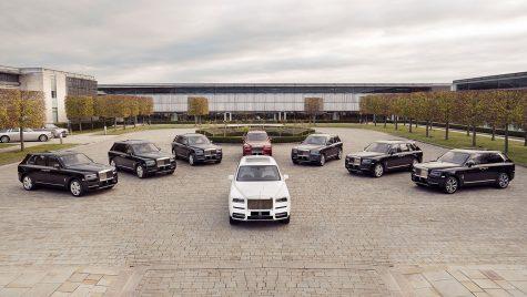 Primul super-SUV al lumii a intrat în producție. Încotro se îndreaptă primele exemplare Rolls-Royce Cullinan?