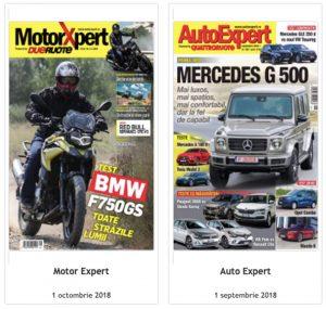 """Publicațiile Auto Expert Media sunt disponibile pe platforma """"TAROM AirFi"""""""