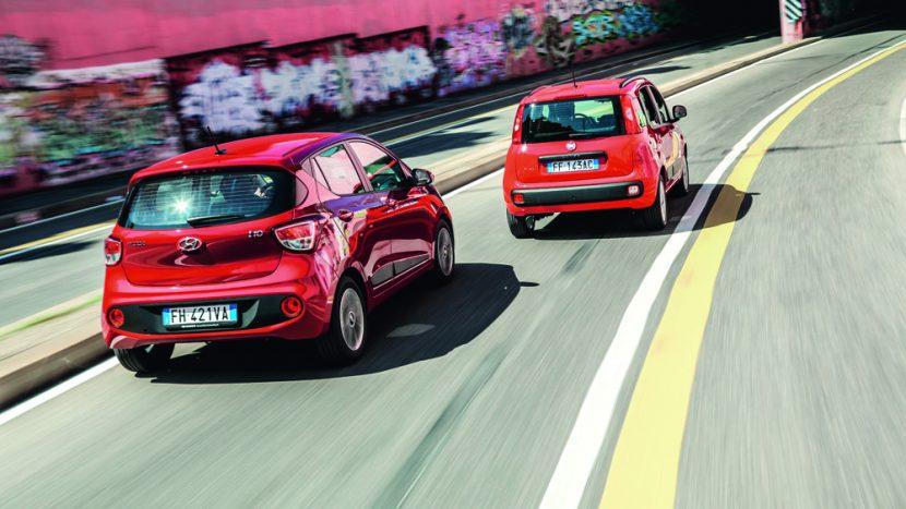 Test comparativ: Fiat Panda vs Hyundai i10